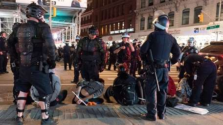 Protests over police brutality in NYC and other