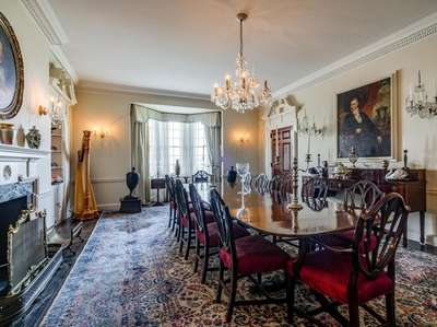 Priced at $14.6 million, this seven-bedroom, 5.5-bath estate
