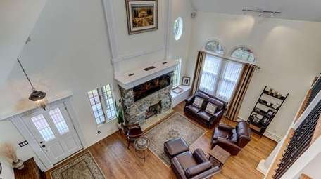 The house has refinished hardwood floors.