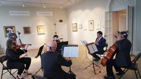 The Massapequa Philharmonic playing Mozart's Clarinet Quintet K.