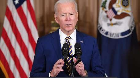 President Joe Biden addresses U.S. foreign policy in