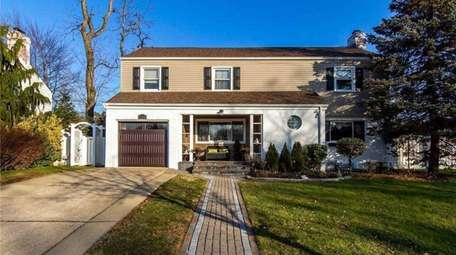 Priced at $650,000, this four-bedroom, 3½-bathroom Colonial on