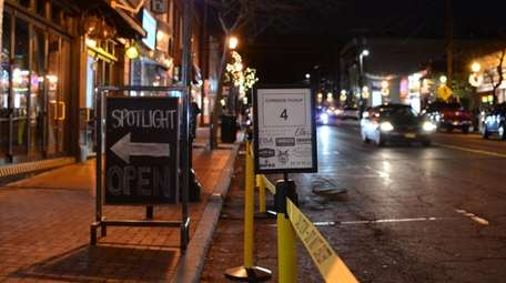 Huntington village launched a designated pickup spot for
