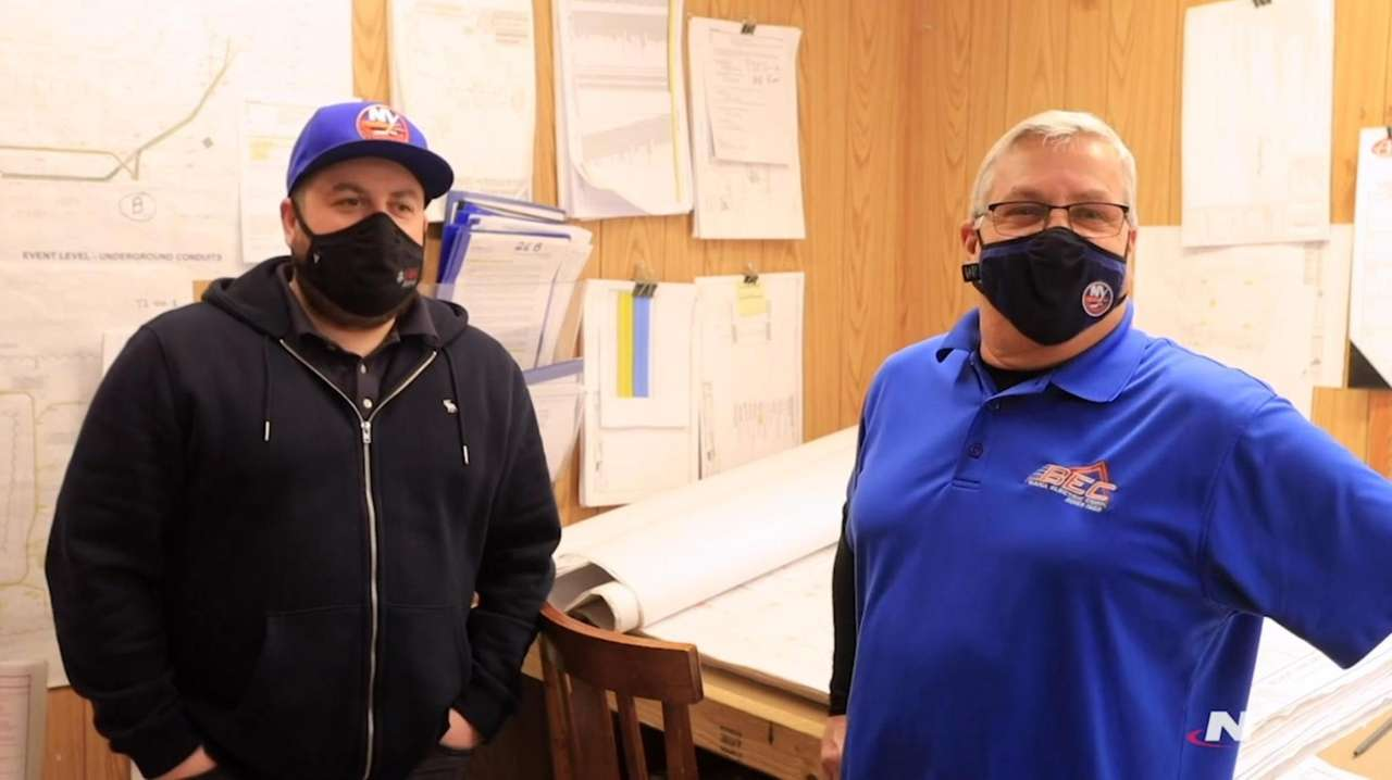 Mark and Chris Worhle are passionate Islanders fans