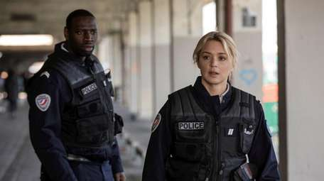 "Omar Sy and Virginie Efira star in ""Night"