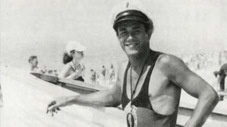 Jones seen in a photo from 1944, the