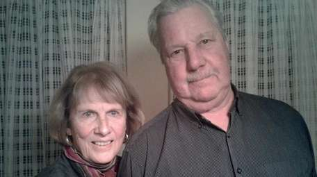 Millicent and Walter Persson, of Southold, were told