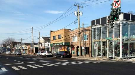 Main Street in Smithtown. The draft comprehensive plan