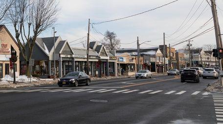 Main Street in Smithtown.