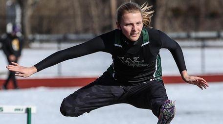 Westhampton Beach's Valerie Finke wins the 55 meter