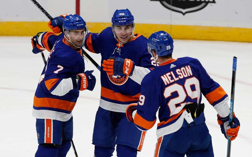 Jordan Eberle #7 of the New York Islanders