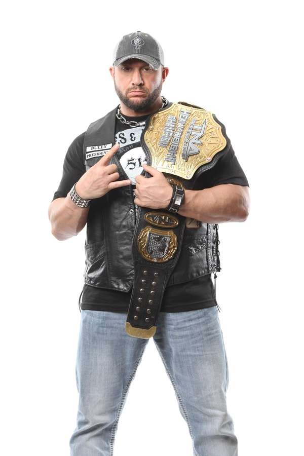 TNA world champion Bully Ray, who grew up