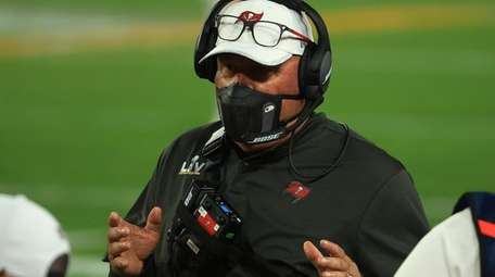 Head coach Bruce Arians of the Tampa Bay
