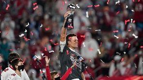 Tom Brady was named MVP of Super Bowl