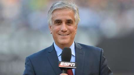 ESPN's Pedro Gomez during a regular-season Monday Night