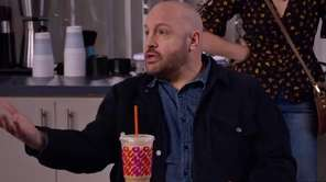 Comedian Kevin James, who grew up in Stony