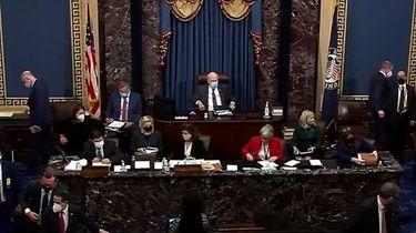 U.S. Senators on Tuesday voted 56-44 to proceed