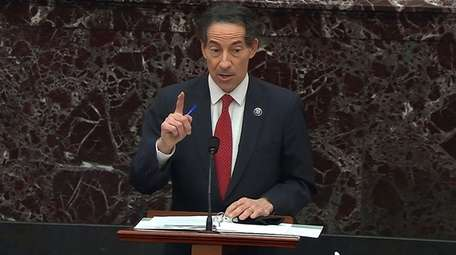 Rep. Jamie Raskin (D-Md.), the lead House impeachment