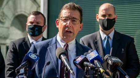 Acting United States Attorney Seth D. DuCharme at