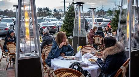 Restaurants facing challenges during the winter months could