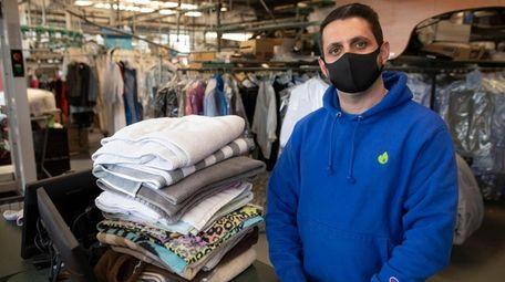 Daniel Kuchlik, owner of American Dry Cleaners, has