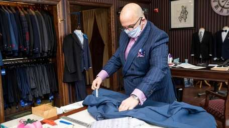 Daniel Marrone, head designer at Thomas Mitchell Clothiers