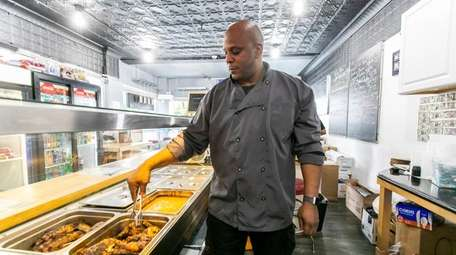 Police officer and restaurateur Bobby Ford, seen at
