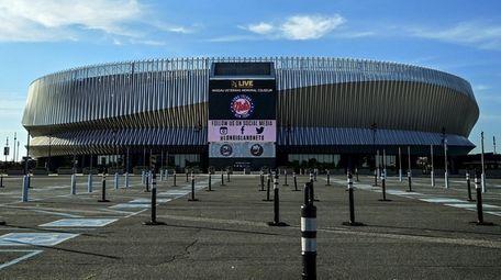 The Nassau Veterans Memorial Coliseum in Uniondale.