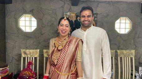 Seema Uppal married Arjun Shah in a small