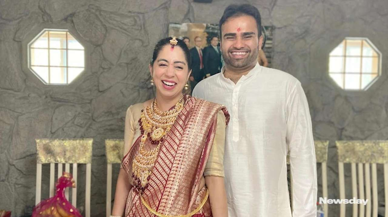 Nine months after getting married, Syosset newlyweds Arjun