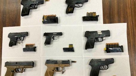 The NYPD's Brooklyn North Violent Crimes Squad seized