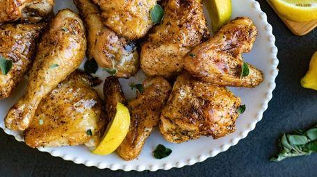 Lemon honey chicken.