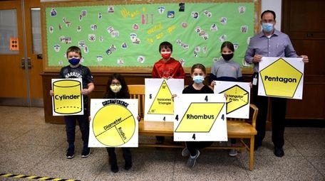 In East Setauket, Minnesauke Elementary School students helped