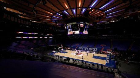 Knicks had their first virus-related postponement when Saturday's