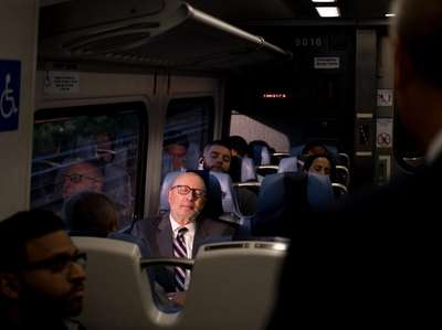 LIRR commuters on Wednesday ride a new M9