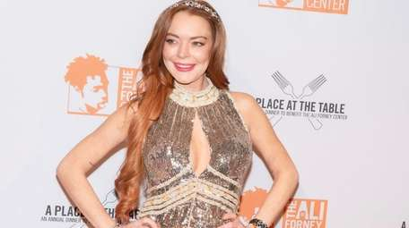 Lindsay Lohan, seen in 2019, has not publicly