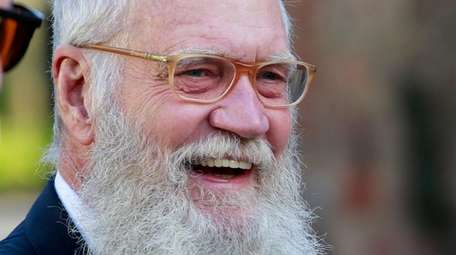 David Letterman's representative declined to comment on his