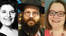 From left, Cantor Irene Failenbogen of The New