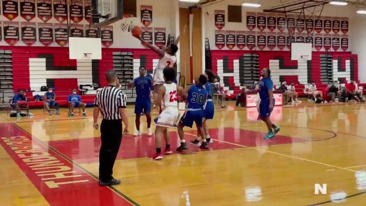 Highlights from Half Hollow Hills East's 65-51 home