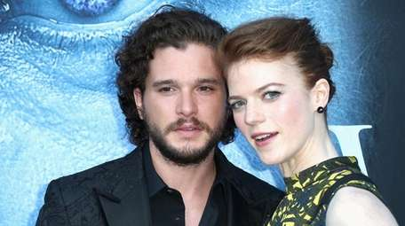 Kit Harington and his wife Rose Leslie have