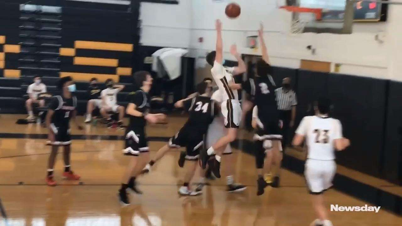Wantagh defeated Island Trees, 56-53, in Nassau Conference