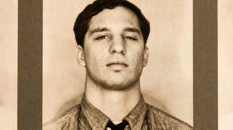 A mugshot of Robert Heller after his arrest