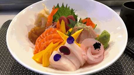 Chirashi is one of the sushi dishes on