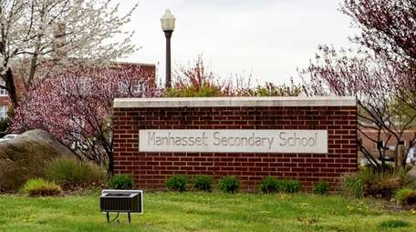 The COVID-19 outbreak hit Manhasset Secondary School.