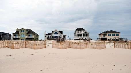 The median home price throughout the Hamptons soared