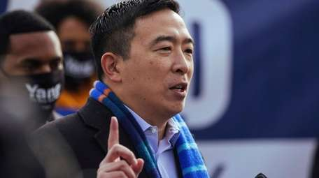 Andrew Yang, who drew the most support for