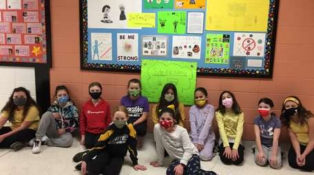 In Commack, fourth-graders at Burr Intermediate School who