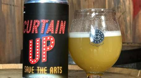 Four LI breweries have produced a Curtain Up