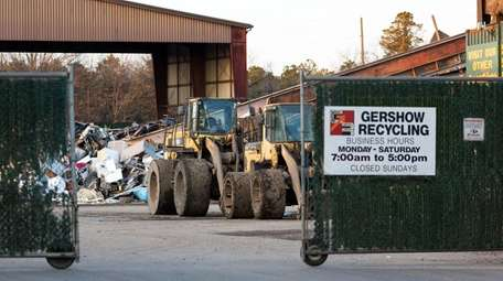 Gershow Recycling Corp. is asking Brookhaven Town for
