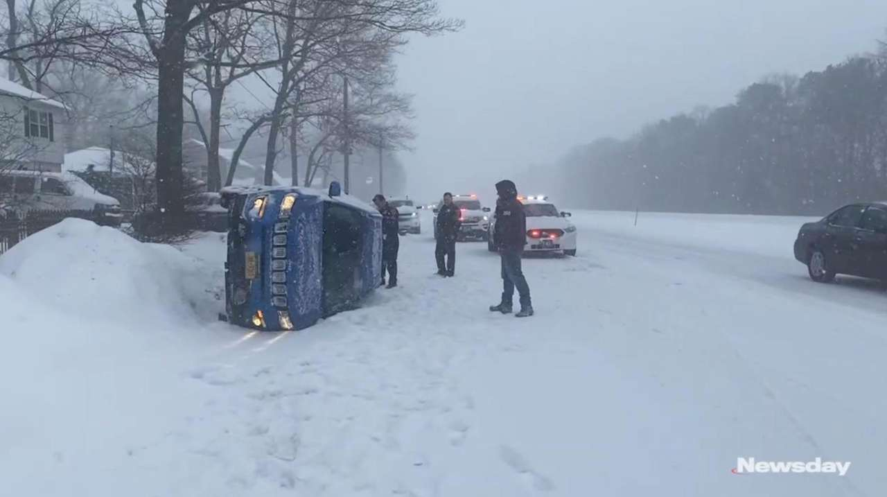 Long Islanders suffered through the fifth major storm